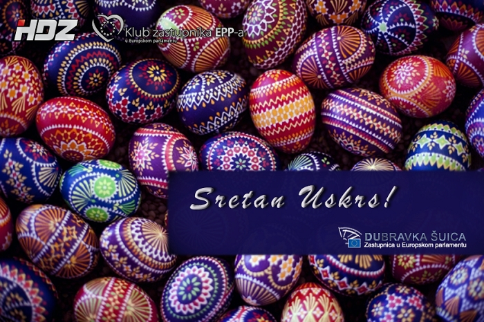 (VIDEO) Easter wishes from Dubravka Šuica