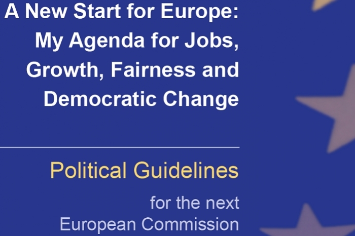 Jean-Claude Juncker: Political Guidelines for the next European Commission