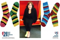Šuica: FOR raising awareness about Down syndrome with colourful, mismatched socks!