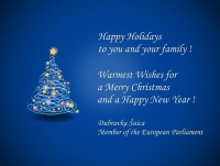 Happy Holidays from MEP Šuica