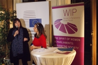 Šuica at the founding of the EU Women Caucus
