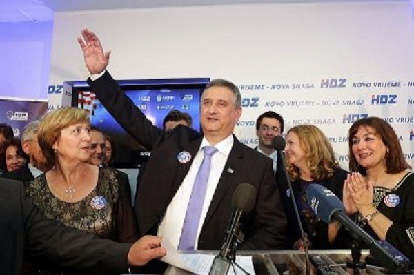 Dalje.com: HDZ and partners wins six seats, Alliance for Croatia without seat in EP